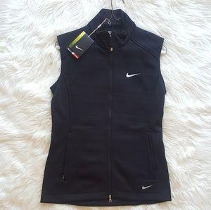 NWT Nike Black Golf Vest!